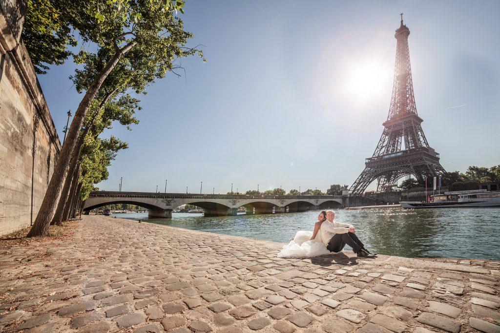wedding photographer paris eiffel tower