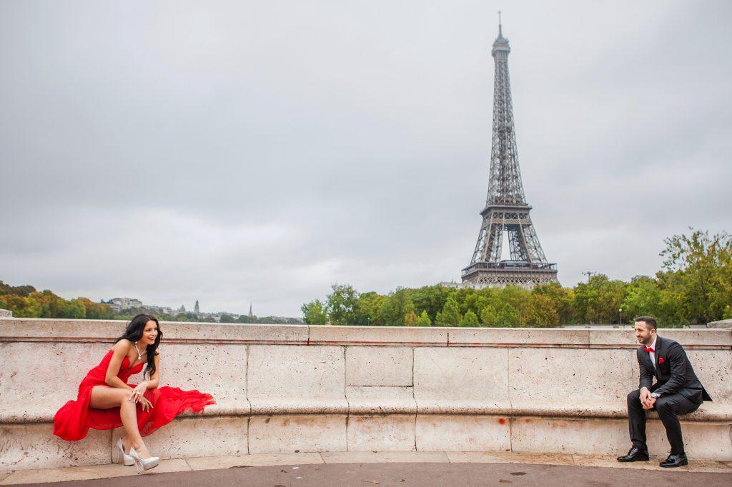 prewedding photoshooting paris eiffeltower