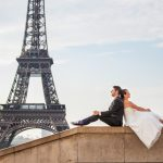 special wedding photographer from paris eiffeltower