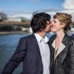 wedding photographer paris boat
