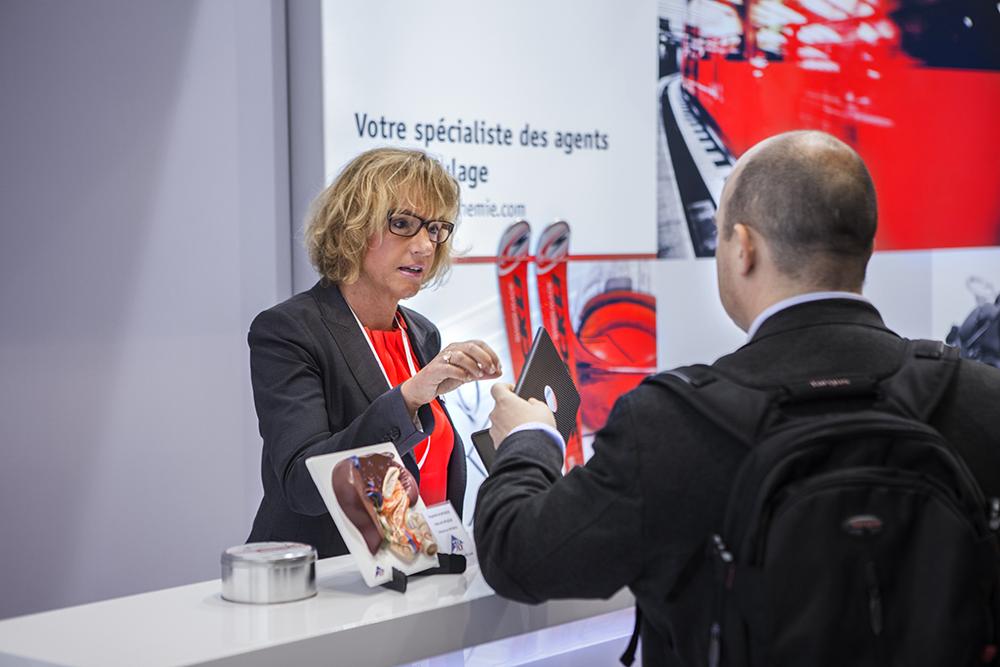 paris event Trade fair photoshoot