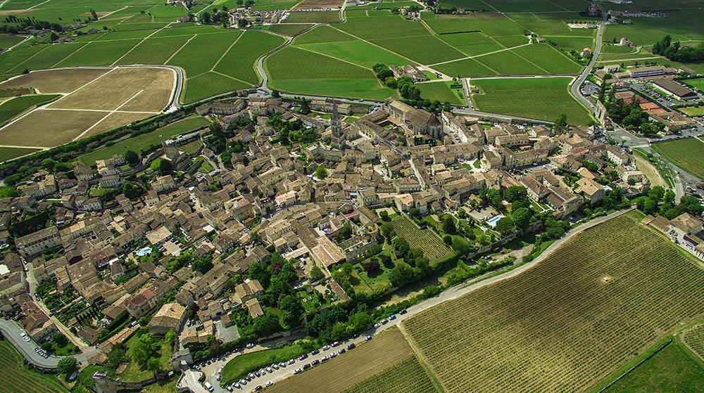 Saint-Emilion aerialphoto service france