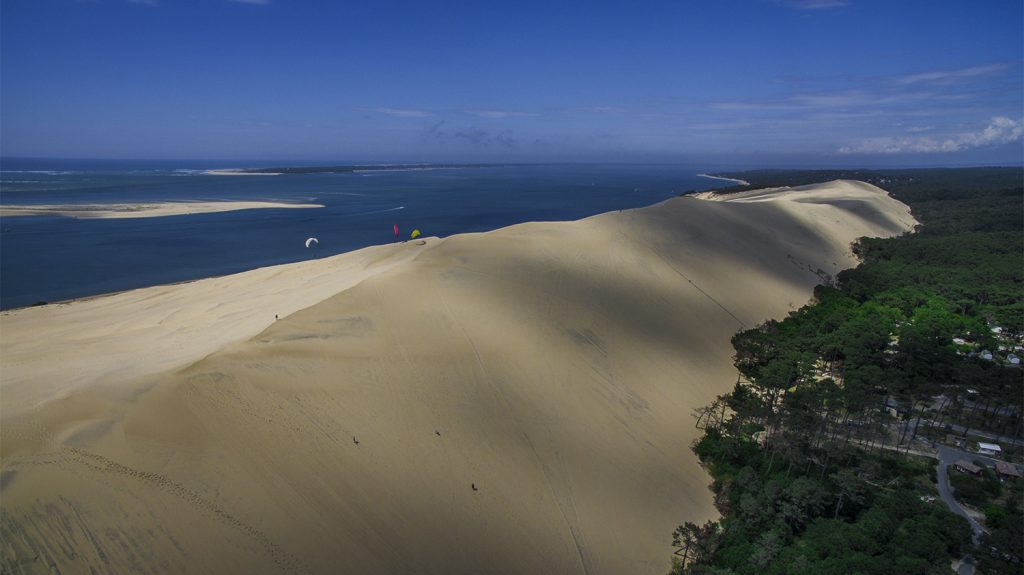 aerial photographer bordeaux Dune du Pilat