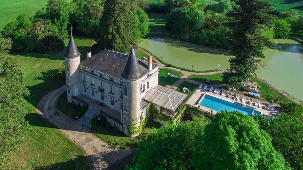 château-Les-Vallées-aerial photographer boredaux