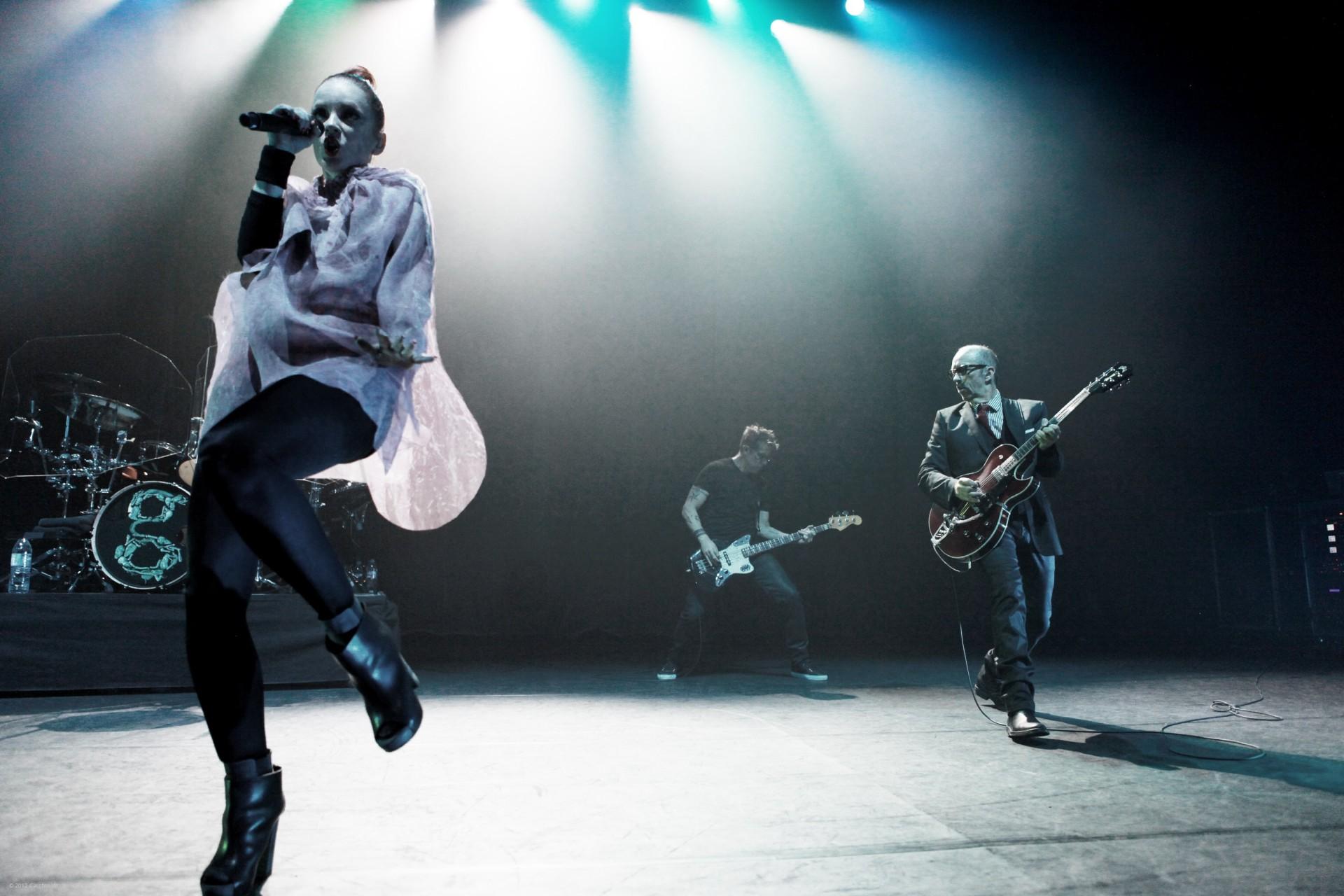 garbage-band stage photographer paris