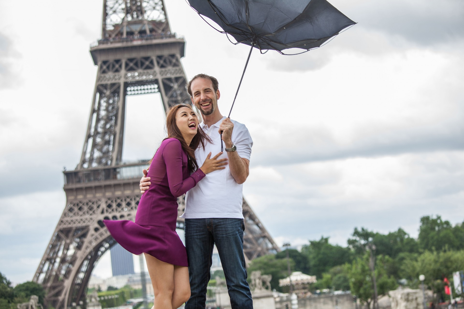 Engagement paris photographers