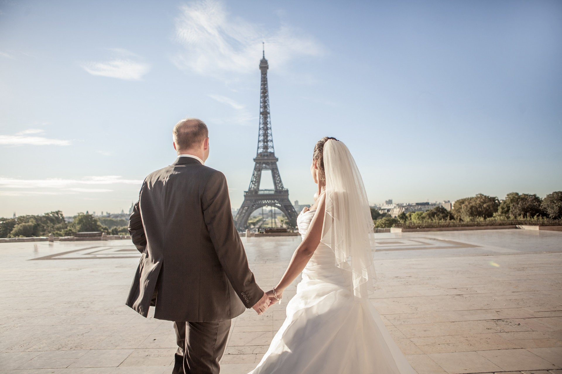 eiffeltower and wedding